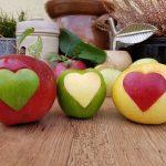 Ein Herz für Äpfel!